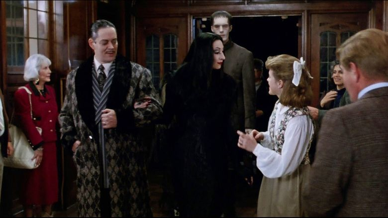 The Addams Family (film) movie scenes
