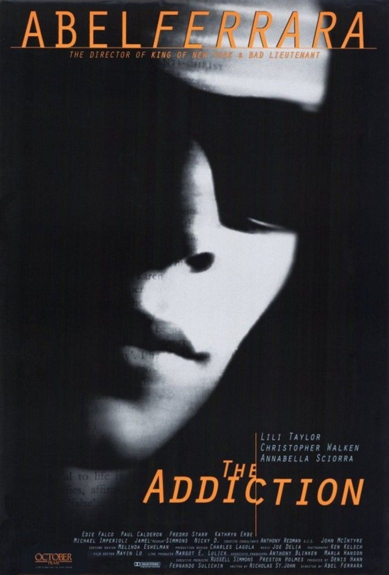 The Addiction movie poster