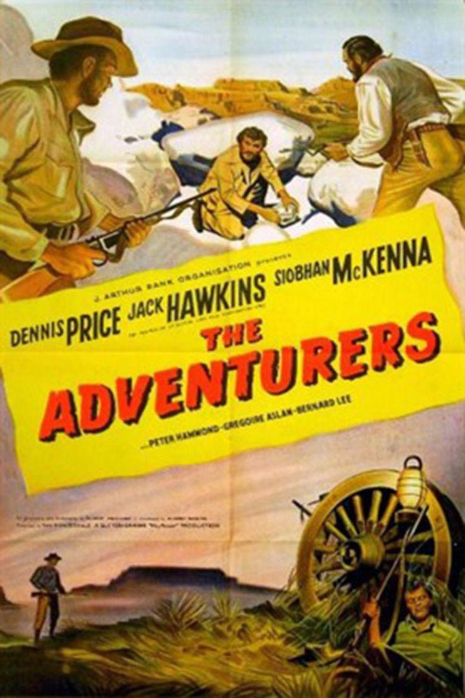 The Adventurers (1951 film) movie poster