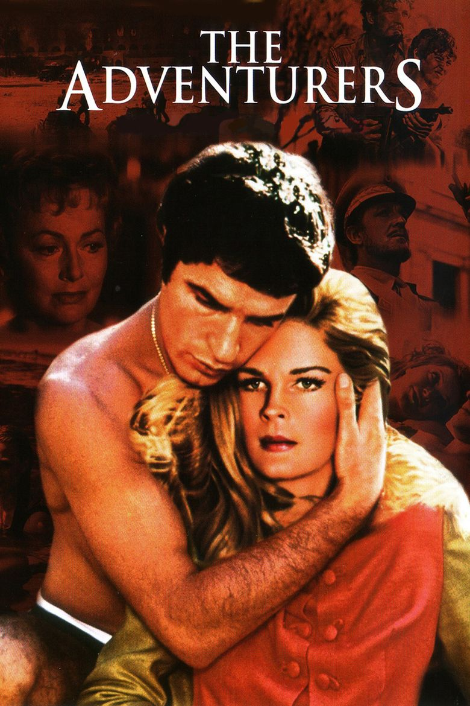 The Adventurers (1970 film) movie poster