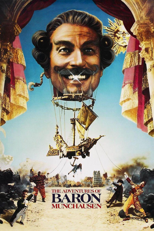The Adventures of Baron Munchausen movie poster