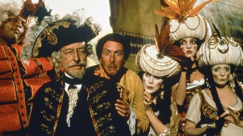 The Adventures of Baron Munchausen movie scenes