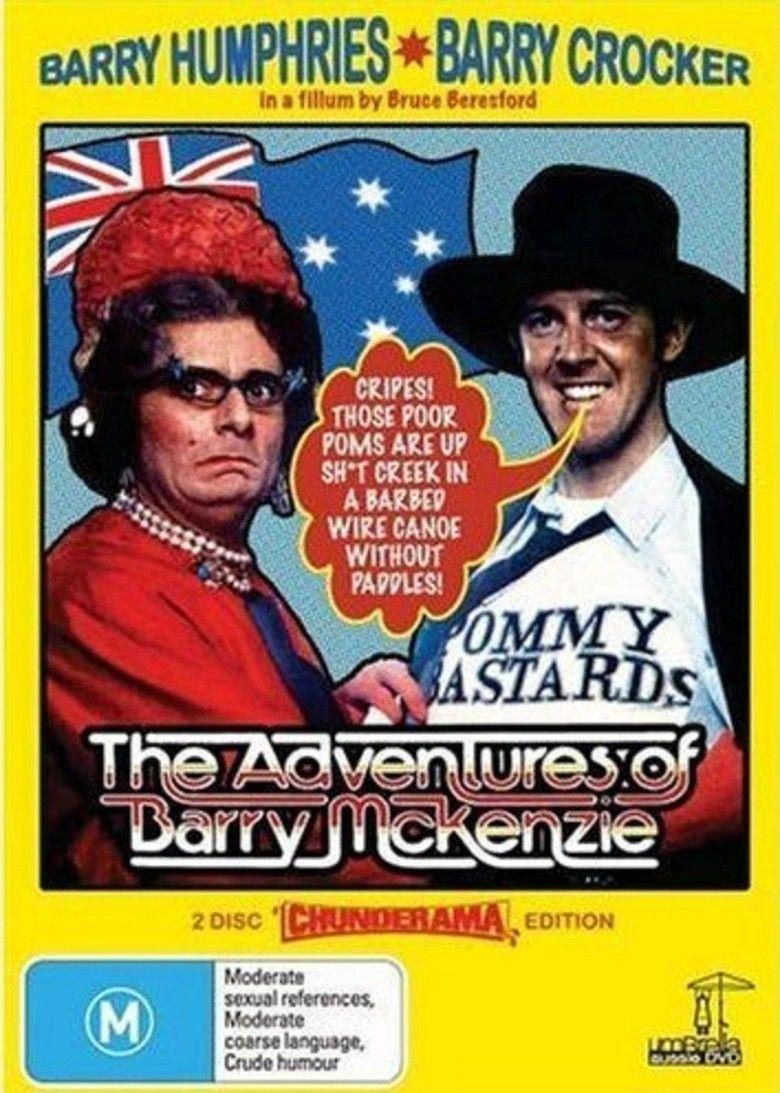 The Adventures of Barry McKenzie movie poster