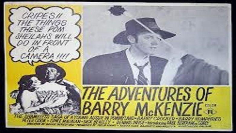 The Adventures of Barry McKenzie movie scenes