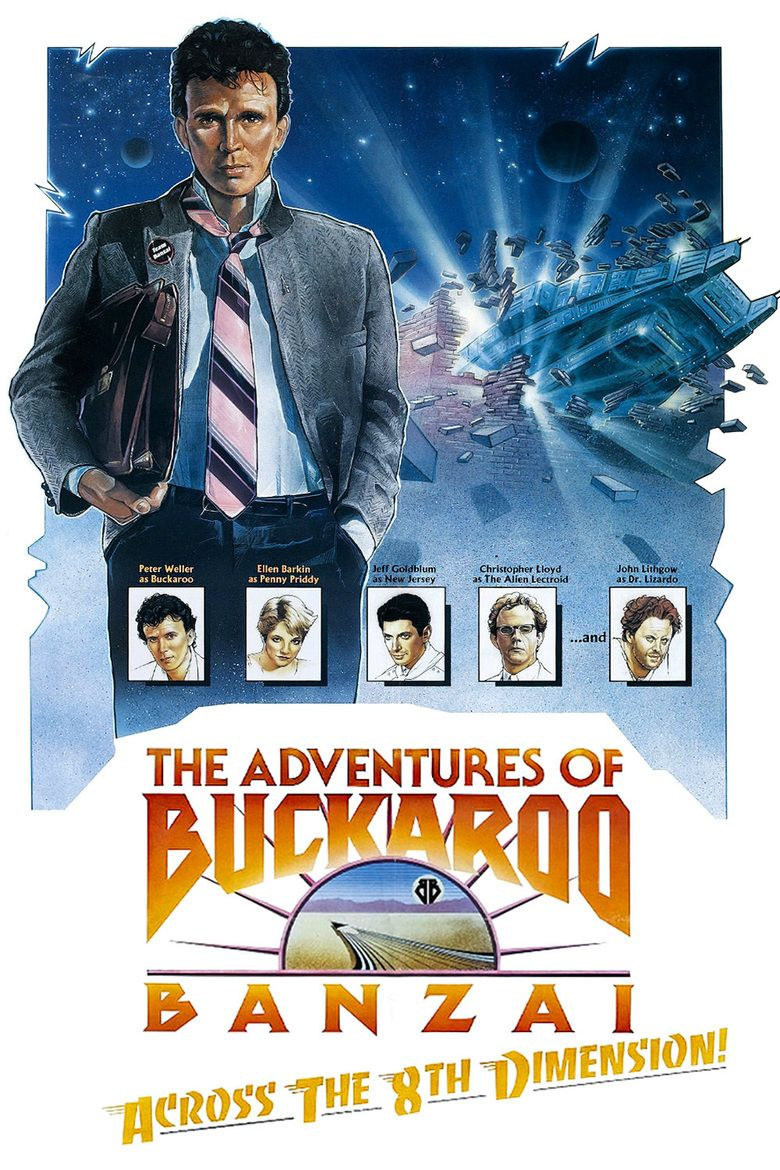 Ellen page films where she breaks the mold pop mythology - The Adventures Of Buckaroo Banzai Across The 8th Dimension Movie Poster