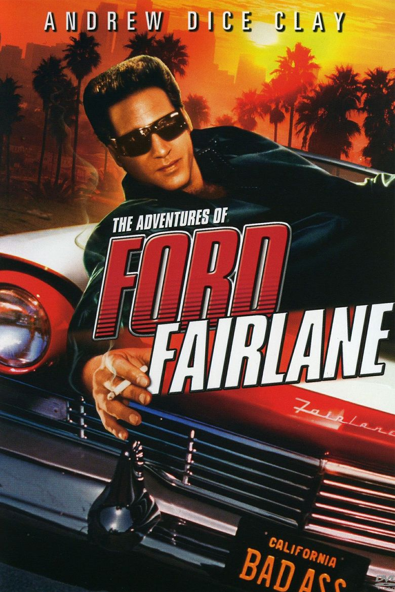 The Adventures of Ford Fairlane movie poster