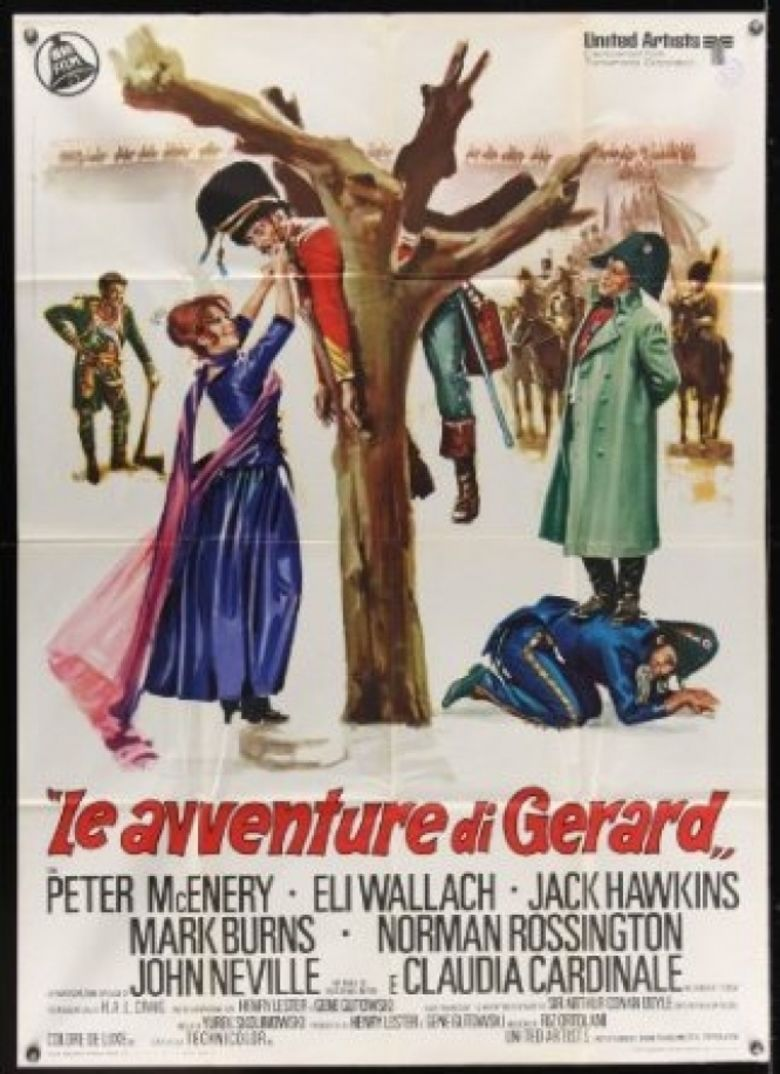 The Adventures of Gerard movie poster