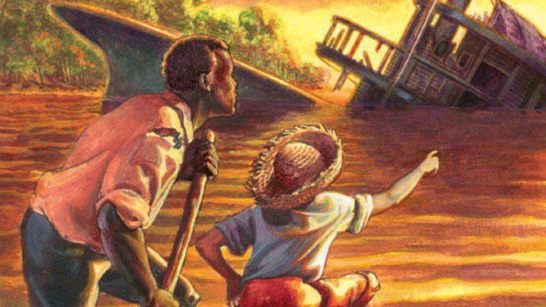 "an analysis of how the south was depicted in huckleberry finn by mark twain Racism in the adventures of huckleberry finn the racist attitudes of the south are most evident in ""teaching mark twain's adventures of huckleberry finn."