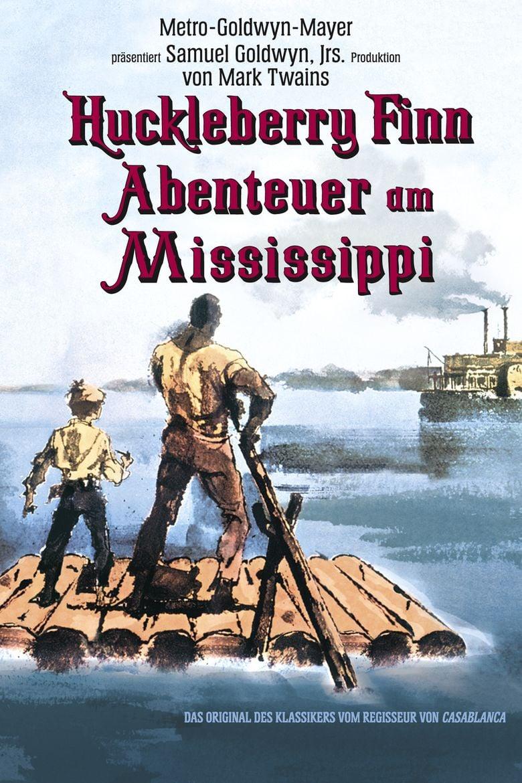 The Adventures of Huckleberry Finn (1960 film) movie poster