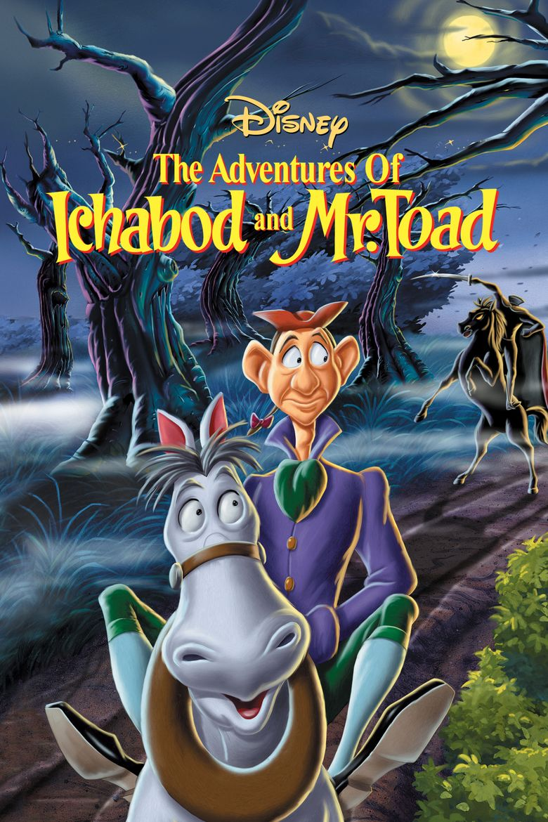 The Adventures of Ichabod and Mr Toad movie poster