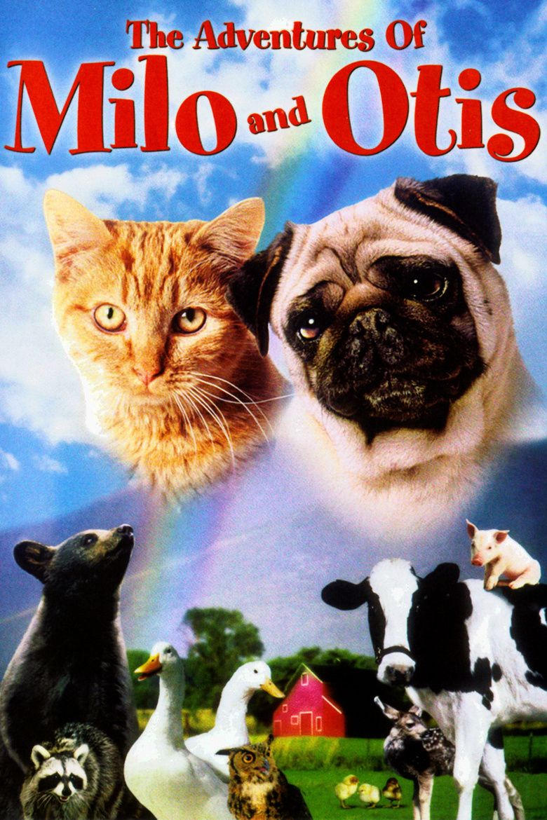 The Adventures of Milo and Otis movie poster