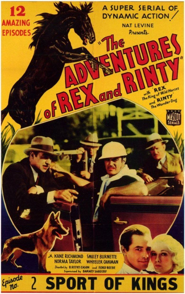 The Adventures of Rex and Rinty movie poster