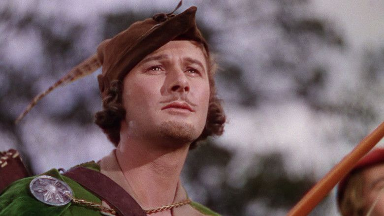 The Adventures of Robin Hood movie scenes