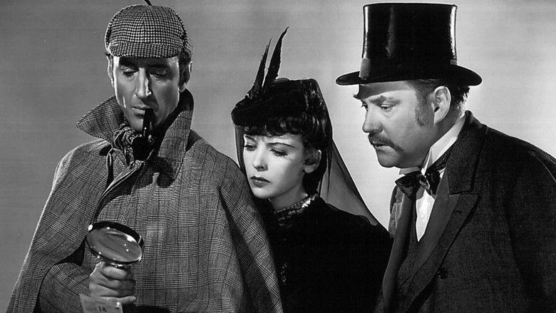 The Adventures of Sherlock Holmes (film) movie scenes