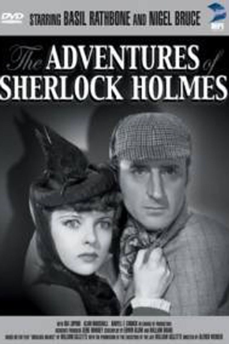 The Adventures of Sherlock Holmes (film) movie poster