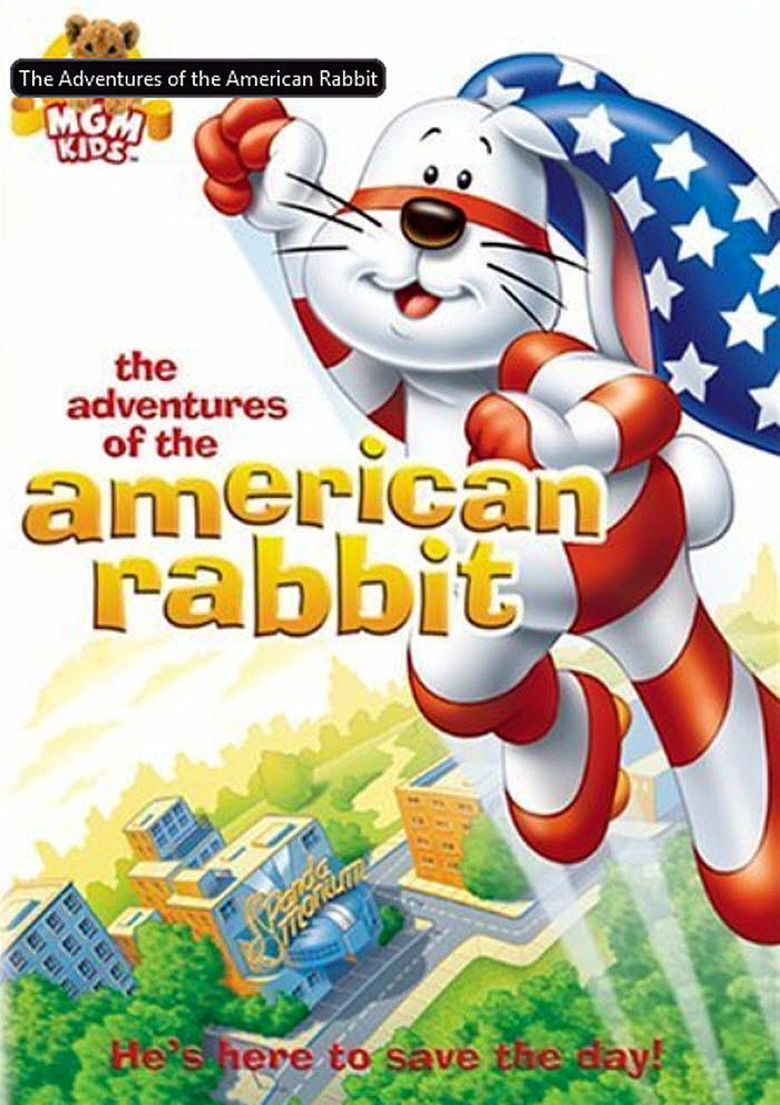 The Adventures of the American Rabbit movie poster