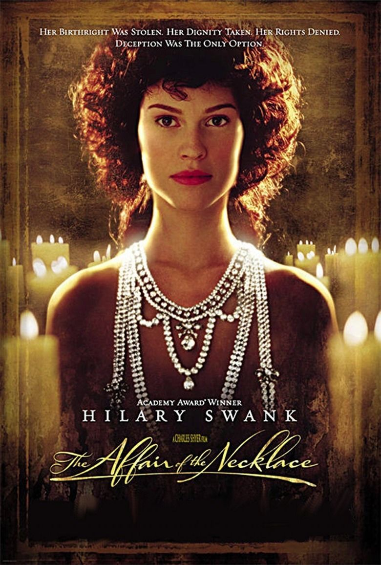 The Affair of the Necklace movie poster