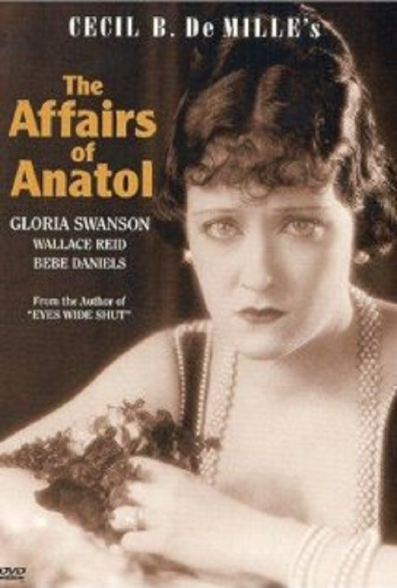The Affairs of Anatol movie poster