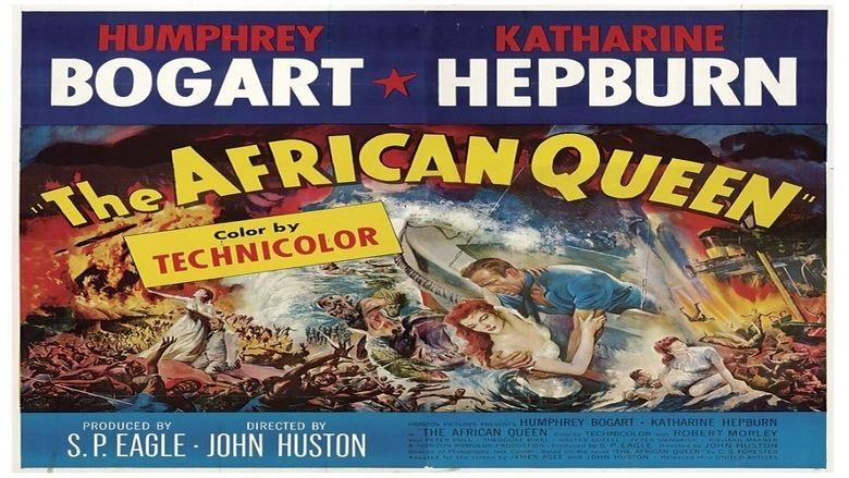 The African Queen (film) movie scenes