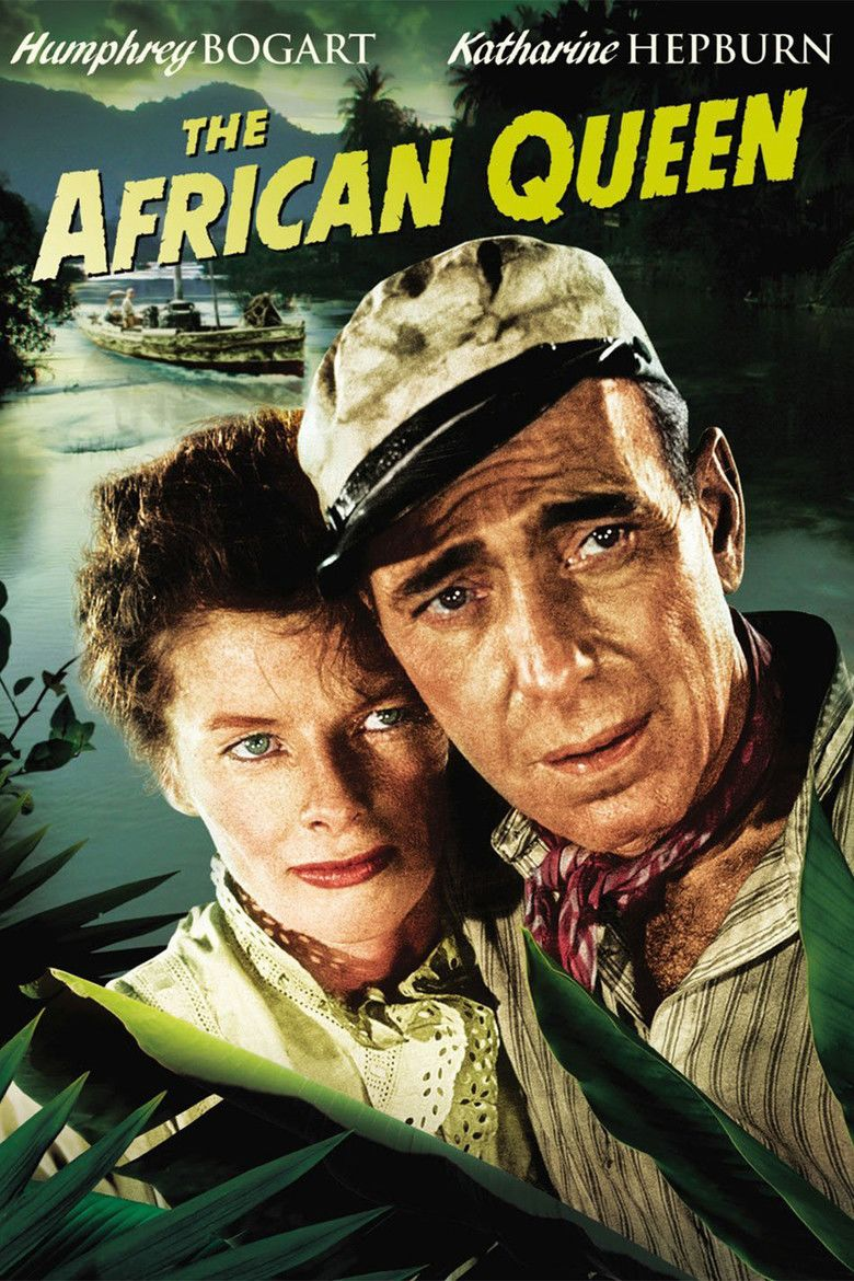 The African Queen (film) movie poster