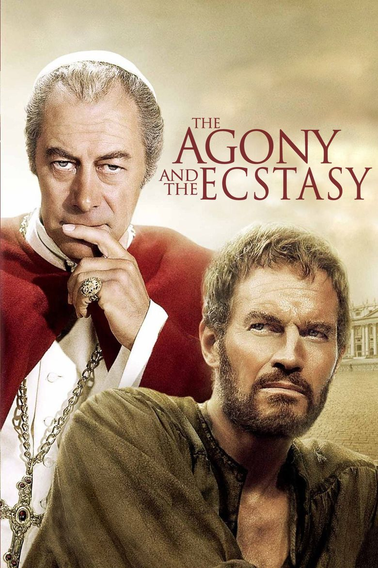 The Agony and the Ecstasy (film) movie poster