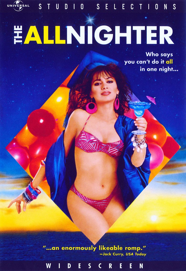 The Allnighter (film) movie poster