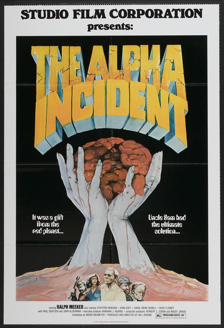 The Alpha Incident movie poster