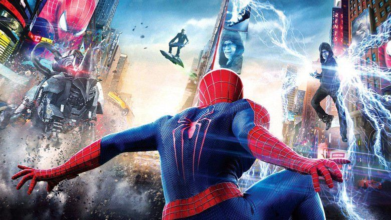 The Amazing Spider Man 2 movie scenes