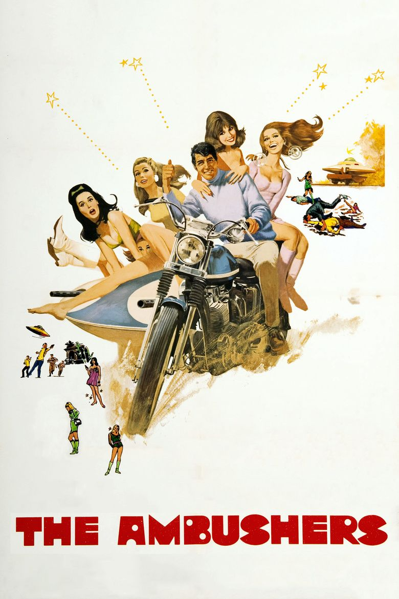 The Ambushers (film) movie poster