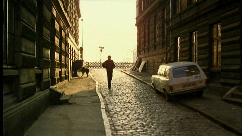 The American Friend movie scenes
