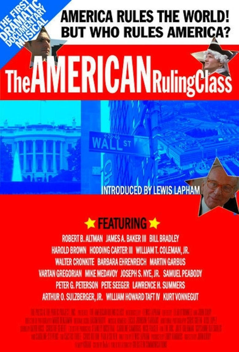 The American Ruling Class movie poster