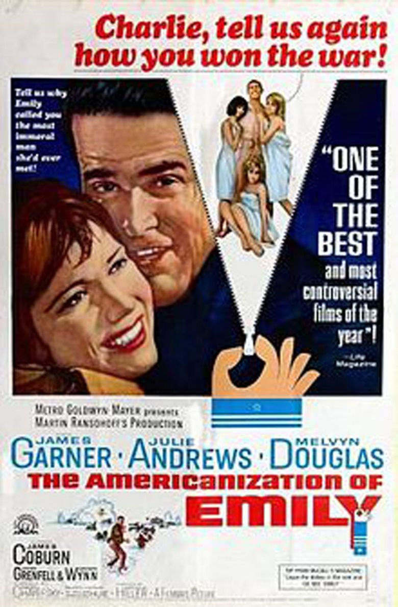 The Americanization of Emily movie poster