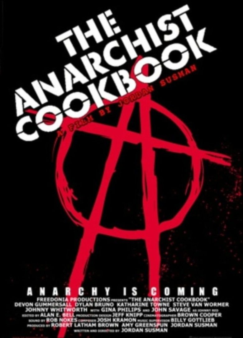 The Anarchist Cookbook (film) movie poster