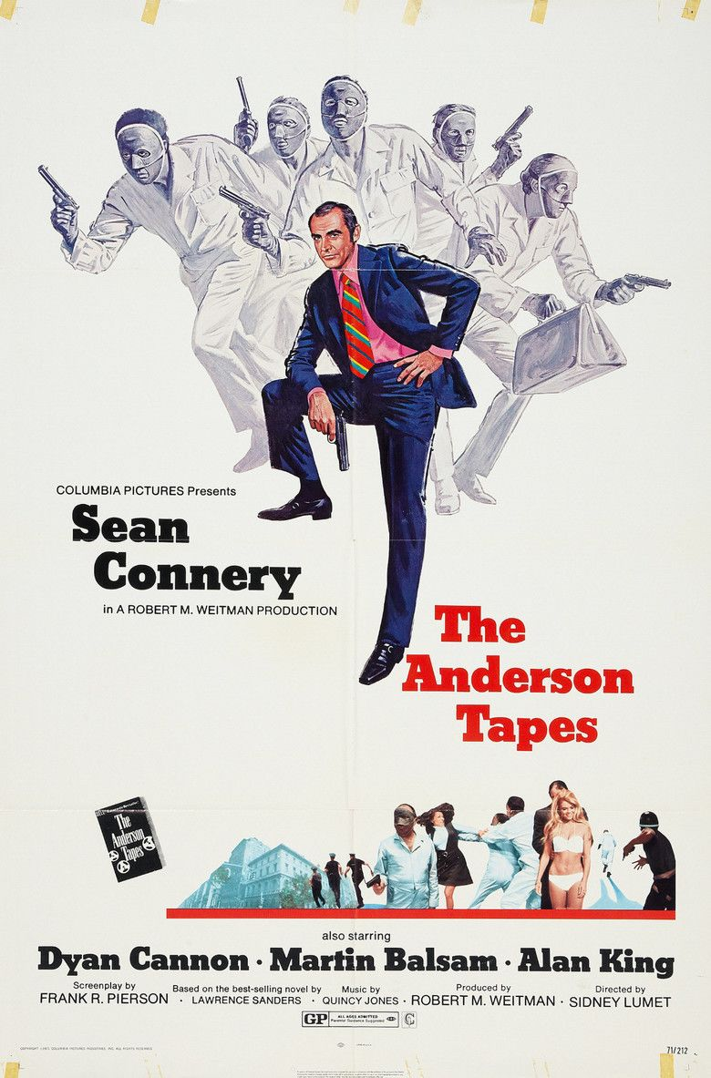 The Anderson Tapes movie poster