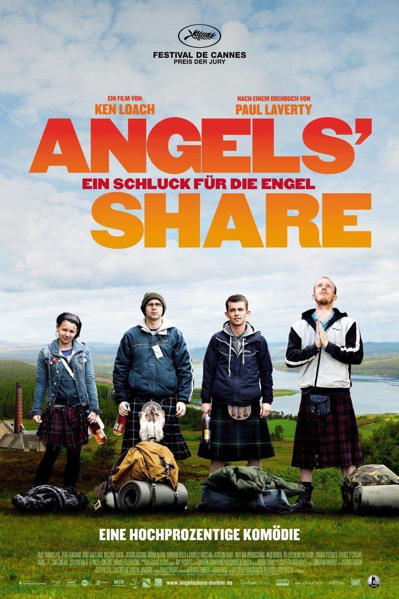 The Angels Share movie poster