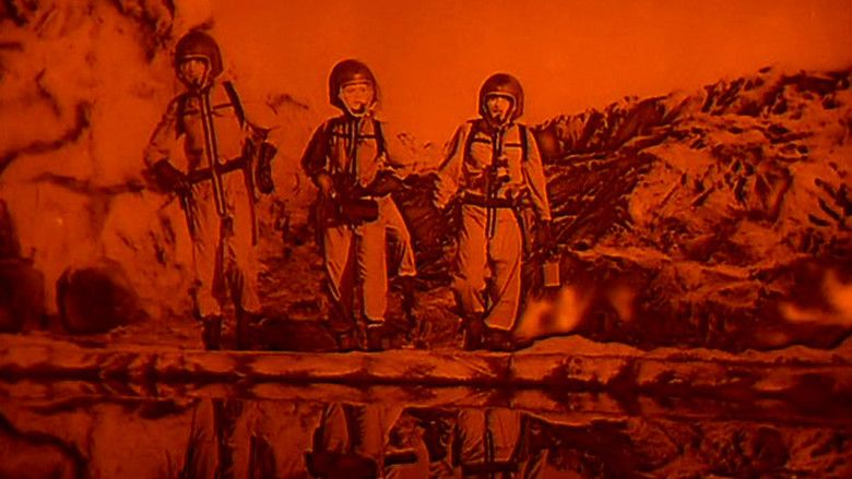 The Angry Red Planet movie scenes