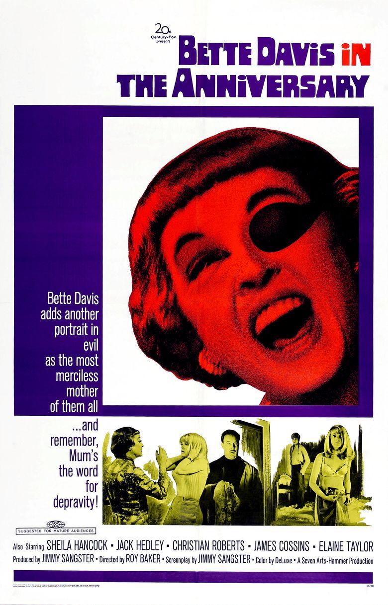 The Anniversary (1968 film) movie poster