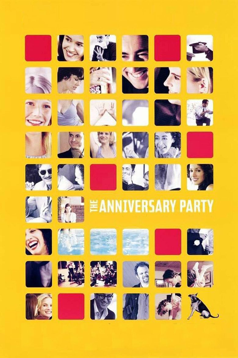 The Anniversary Party movie poster