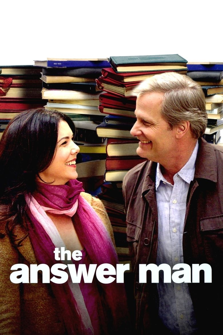 The Answer Man (film) movie poster