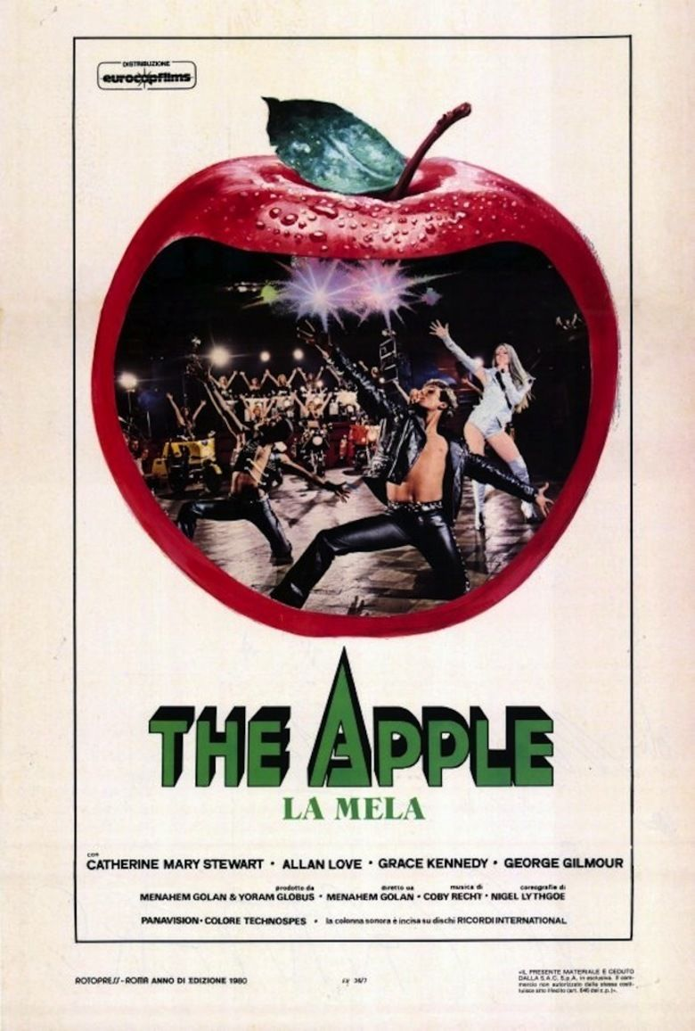 The Apple (1980 film) movie poster