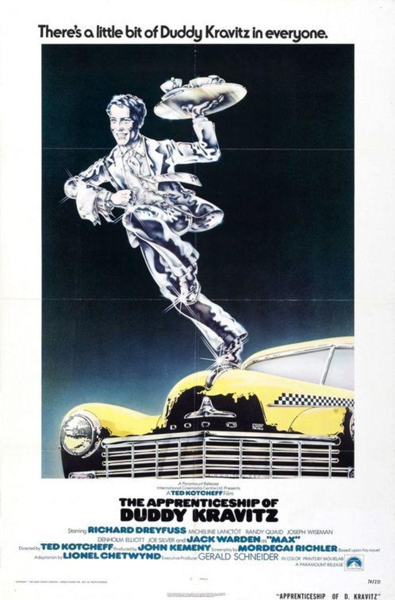 The Apprenticeship of Duddy Kravitz (film) movie poster