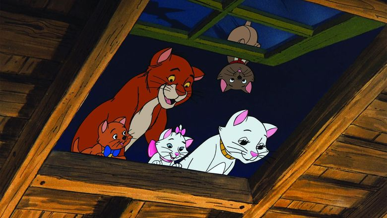 The Aristocats movie scenes