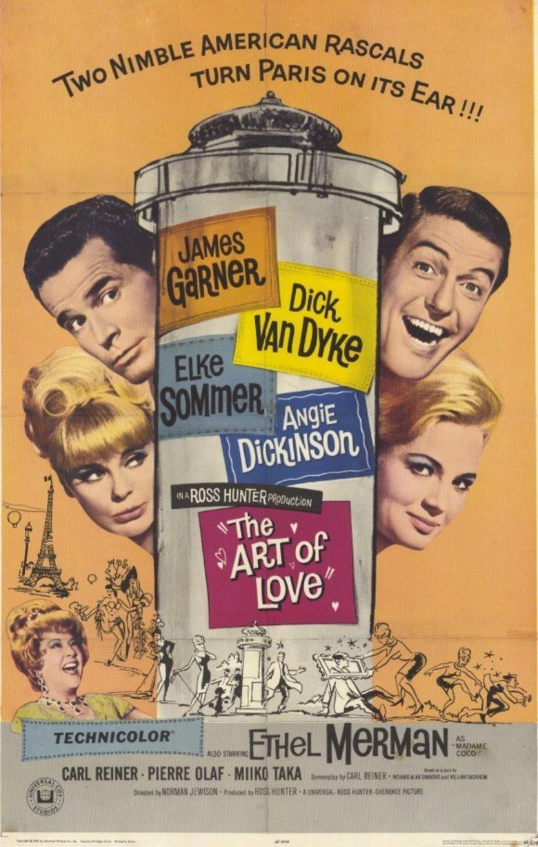 The Art of Love (1965 film) movie poster