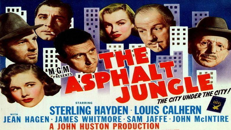 The Asphalt Jungle movie scenes