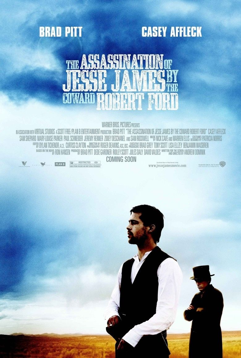 The Assassination of Jesse James by the Coward Robert Ford movie poster