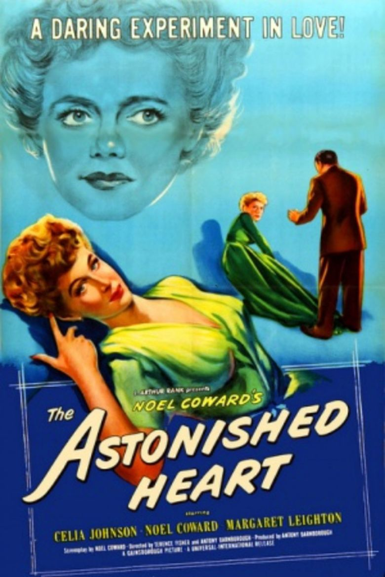 The Astonished Heart (film) movie poster