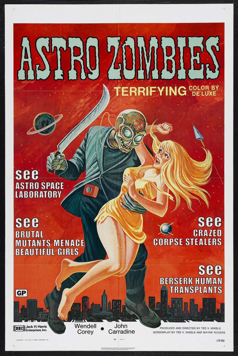 The Astro Zombies movie poster
