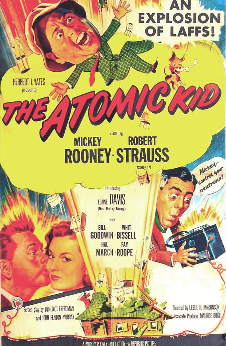 The Atomic Kid movie poster