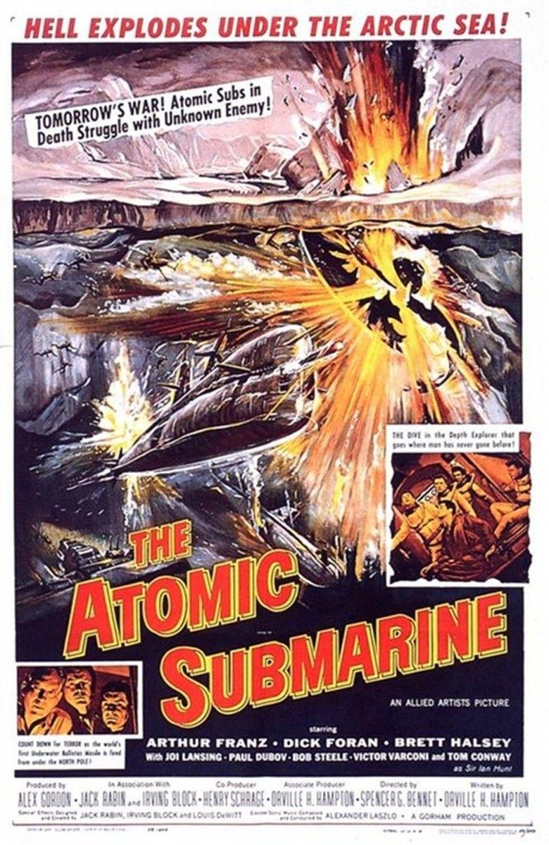 The Atomic Submarine movie poster