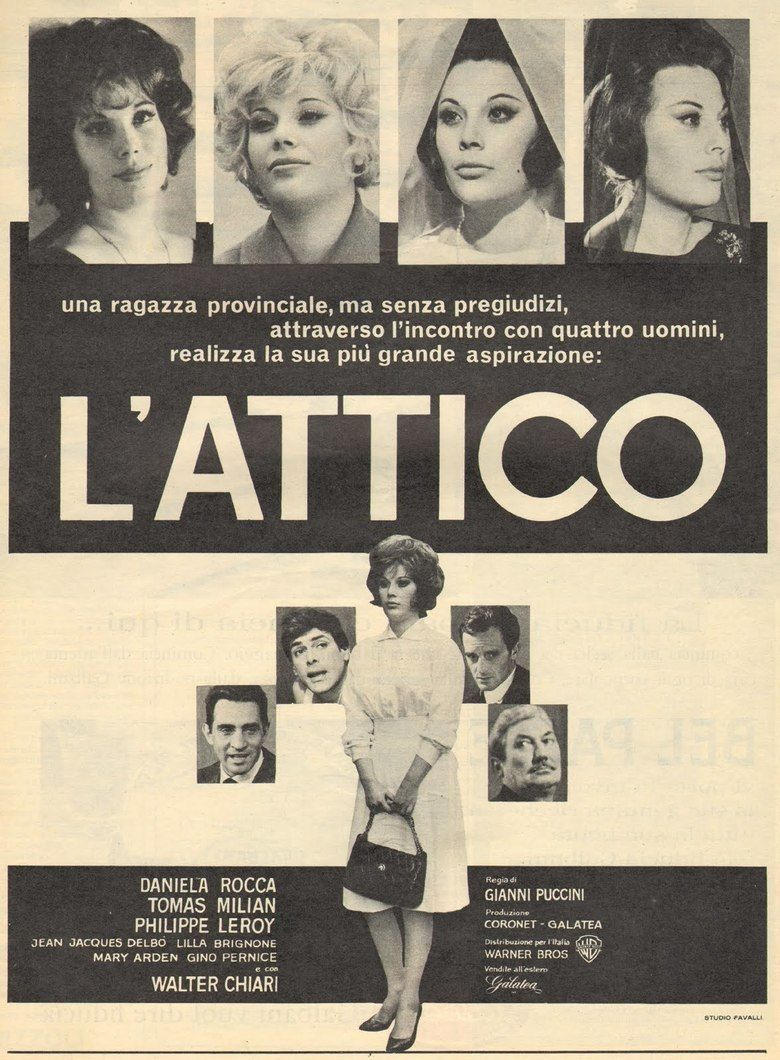 The Attic (1962 film) movie poster
